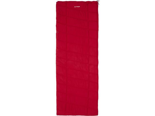 VAUDE Navajo 100 Syn Sac de couchage, dark indian red